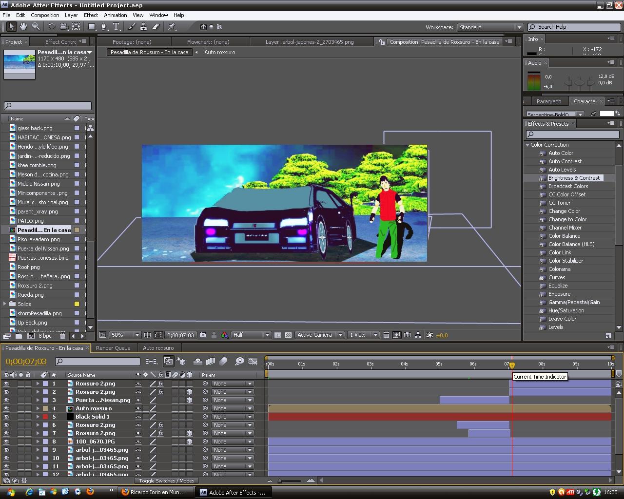 Making of 15 - 12 - 2012
