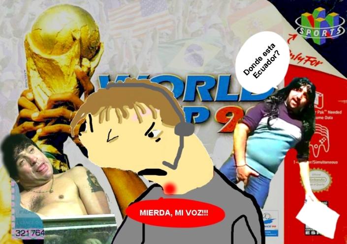 Thunmail Copa Mundal 98 Nintendo 64