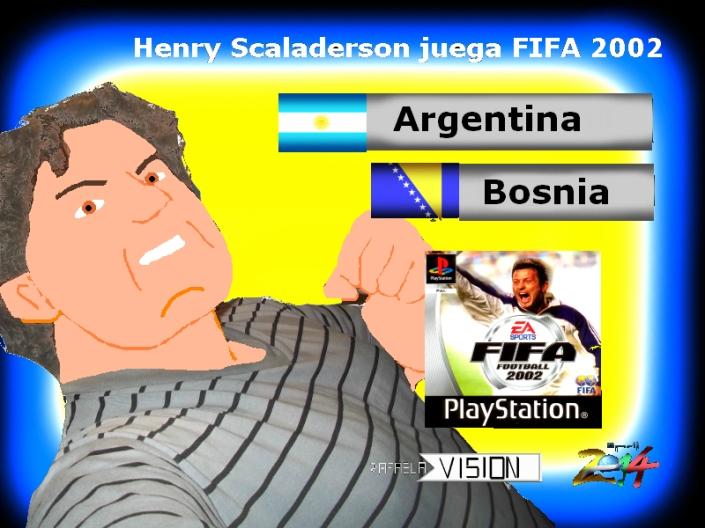 Portada Fifa 98 ARG BOS